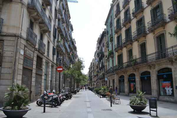 Empty-Barcelona-Street