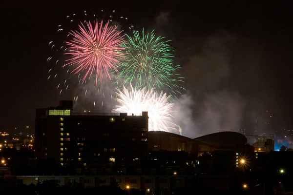 Calgary-Stampede-Fireworks