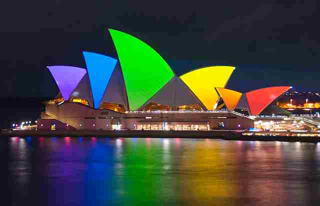 Colorful-Sydney-Opera-House