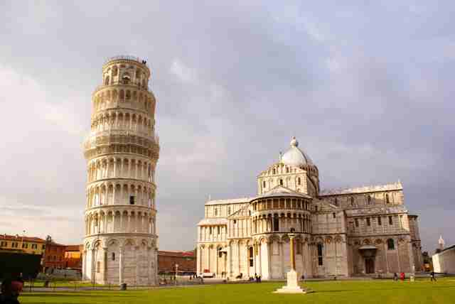 Tower Pisa Facts Big Ben Facts · Leaning Tower