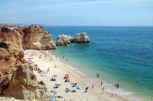 Praia da Rocha Beach, Portugal