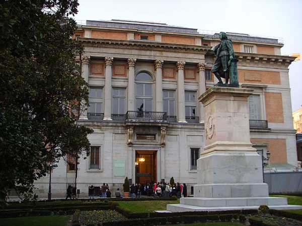 The Museum El Prado in Madrid