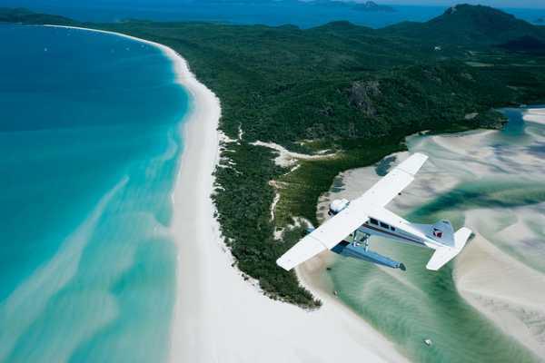 Seaplane over Whitehaven