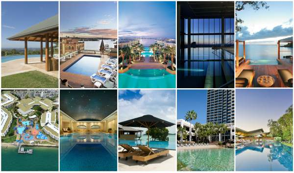 top 10 hotel pools in Australia