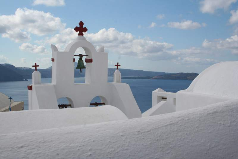 Trademark Architectural Beauty of Santorini