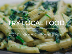 TRY LOCAL FOOD