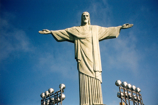 Admire the Christ the Redeemer