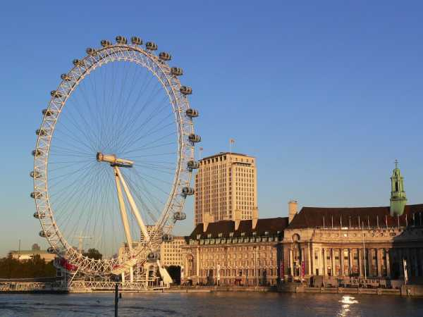 London Eye During the day