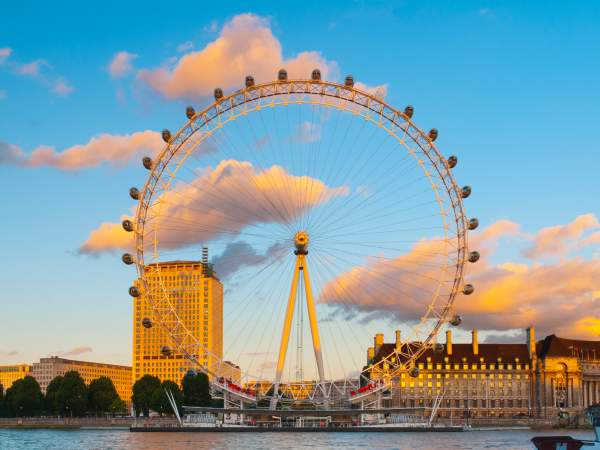 London Eye Incredible Daytime View