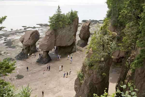 The-Bay-of-Fundy-NB-Hopewell-Rocks