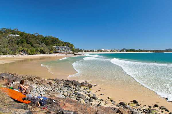 Noosa Little Cove Surf, one of the top things to do in Australia