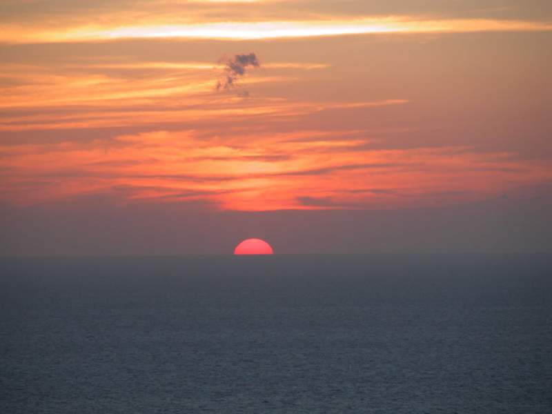 Santorini is Known for its beautiful sunset