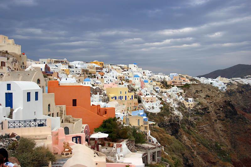 A Multi-color View Of Santorini