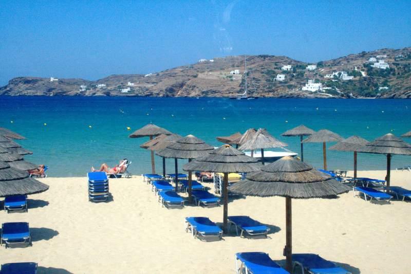 One of the beautiful beaches in Santorini